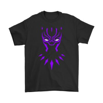 QIYIF The King Suit Marvel Black Panther Neon Shirts
