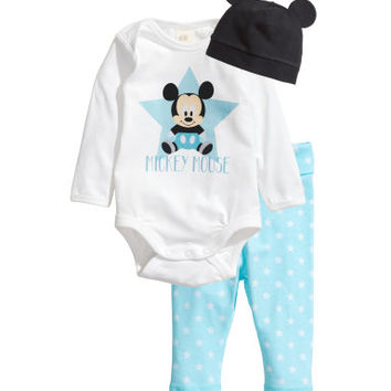 H&M Jersey Set with Printed Design $14.95