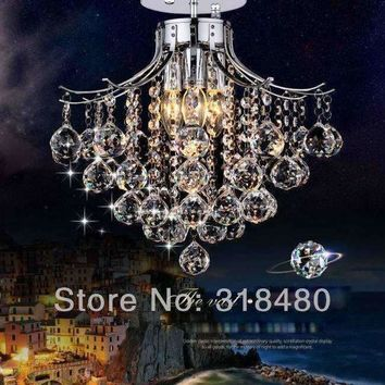 crystal ceiling lights home decor modern lustre  improvement  indoor lighting retro rectangular  large LED Baskets