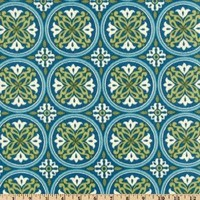 54 Wide Bryant Indoor/Outdoor Morgan Tile Seagrass Fabric By The Yard