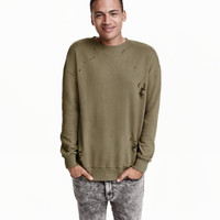 Trashed Sweatshirt - from H&M