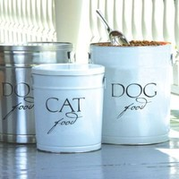 Pet Food Storage Canisters