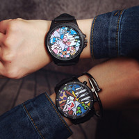 Womens Retro Small Leather Watch Gift 497