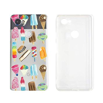 Cute Ice-Cream Transparent Silicon Plastic Phone Case Samsung Galaxy S8 Samsung Galaxy Covers Emerishop (Samsung S8)