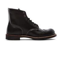 "Red Wing Shoes 6"" Brogue Ranger in Black"