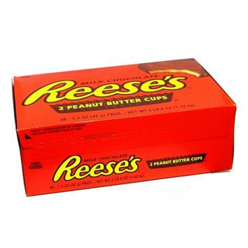 Hershey Reese's Peanut Butter Cup Case of 36 1.5 oz Bars: Case of 36