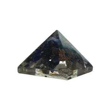 25-30mm Orgone Lapis pyramid