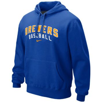 Milwaukee Brewers Nike Classic Pullover Hoodie – Royal Blue