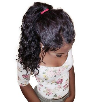 Loose Wave 360 Lace Frontal Wig Pre Plucked With Baby Hair Brazilian Human Hair Lace Front Wigs Natural Hair Honey Queen Remy