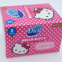 Hello Kitty Dial Bar Soap (Pack of 2)