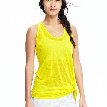 Old Navy Womens Side Tie Tanks