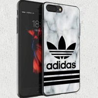 Best Adidas.81 Marble Stripe Fit Hard Case For iPhone 6 6s 7 8 Plus X Cover +