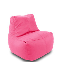 Michael Anthony Furniture Fabric Lounge Beanbag 6 Cube Fushia Petal