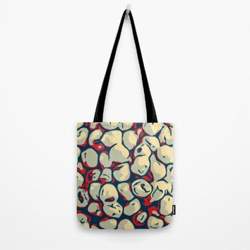 Abstract Tote Bag by Taoteching / C4Dart
