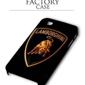 Black gold lamborghini iPhone for 4 5 5c 6 Plus Case, Samsung Galaxy for S3 S4 S5 Note 3 4 Case, iPod for 4 5 Case