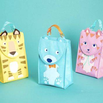 Animal Insulated Lunch Tote | Assorted 3 Designs