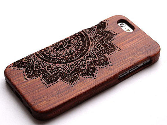 iphone wood case wood iphone 6 wooden totem phone from yumei03 on etsy 12505