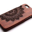 Flower Wood iPhone 6 Case for iPhone 6 iPhone 5/5C/5S iPhone 4/4s Samsung Galaxy S3/S4/S5/S6 Galaxy Note2/3/4