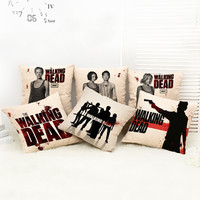Without the core The Walking Dead Nap Cushion Cars Home Lumbar Pad Pillow Cover Hold Pillow Kids Toys