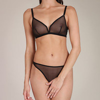 Eres: Le Tulle Providence Full Cup Bra at Nancy Meyer