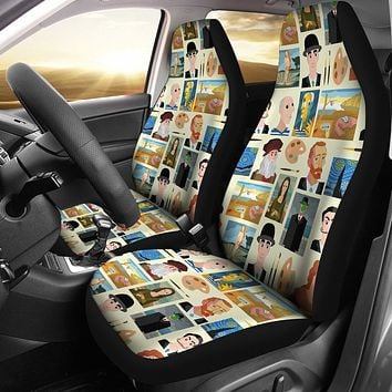 Famous Painters Car Seat Covers