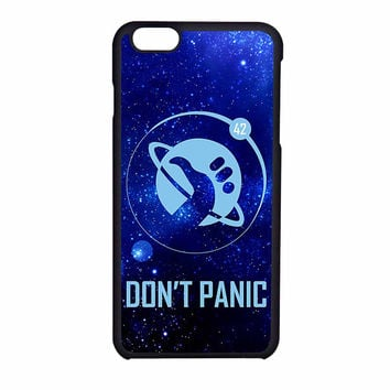 Hitchhikers Guide To The Galaxy Dont Panic 2 iPhone 6 Case