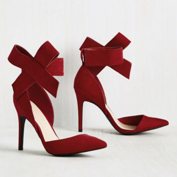 What's Yours Is Divine Heel in Ruby