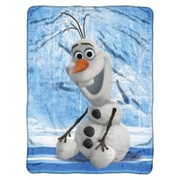 "Disney® Frozen Olaf Throw - 46"" X 60"""