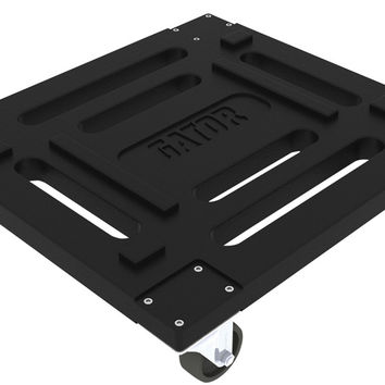 Rotationally molded caster kit for G-PRO and GR-L series rack cases