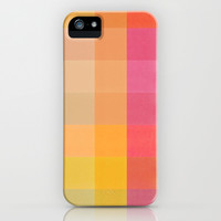 Colorquilt 1 iPhone & iPod Case by Garima Dhawan
