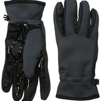 CREY1O Timberland Men's Casual Commuter Poly-Knit Glove with Touchscreen Technology