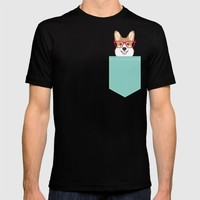 Teagan Glasses Corgi cute puppy welsh corgi gifts for dog lovers and pet owners love corgi puppies T-shirt by PetFriendly