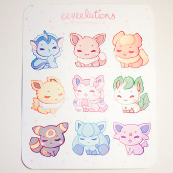 Eeveelution Stickers