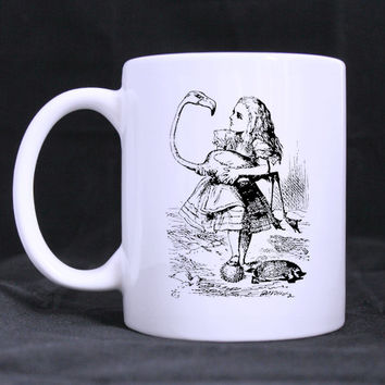 Alice in Wonderland John Tenniel Ceramic Mug 11 oz
