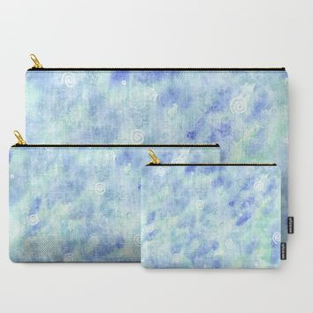 Blue lagoon Carry-All Pouch by Savousepate