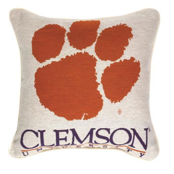 Throw Pillow - Clemson University Tigers