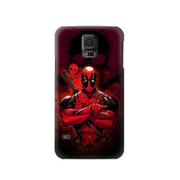 P2054 Deadpool Skull Phone Case For Samsung Galaxy S5
