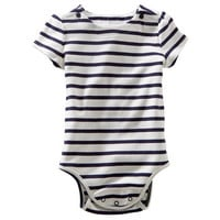 Striped Button Bodysuit