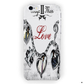 Boyz Ii Men Album Cover Love I Can'T Make You Love Me For iPhone 6 / 6 Plus Case