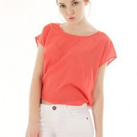 CORAL CHIC OPEN BACK TOP @ KiwiLook fashion