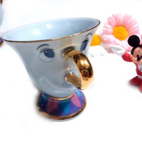 New Beauty and The Beast CHIP Tea Coffee Cup [Tokyo_Disneyland_Limited]