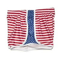 Kappa Alpha Theta Shorts in Red, White and Blue by Krass & Co. - FINAL SALE