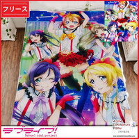 New Love Live School Idol Project Japanese Anime Fleece Flannel Bed Throws GZFONG329