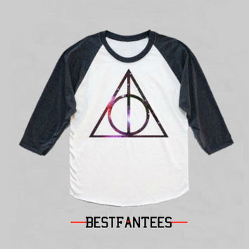 Deathly Hallows HARRY POTTER Long Sleeve Shirt Unisex