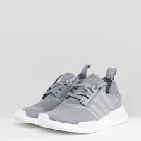 adidas Originals NMD R1 Sneakers In Gray at asos.com