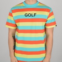 Odd Future GOLF Striped T-Shirt - Multi