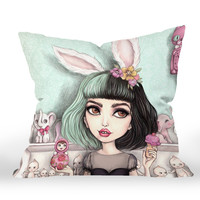 "Best Cry Baby Melanie Martinez Decorative Pillow Case Cushion 20"" Zippered"