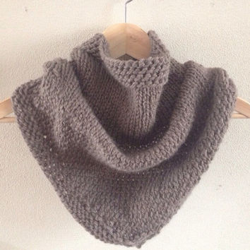 Bandana cowl - brown
