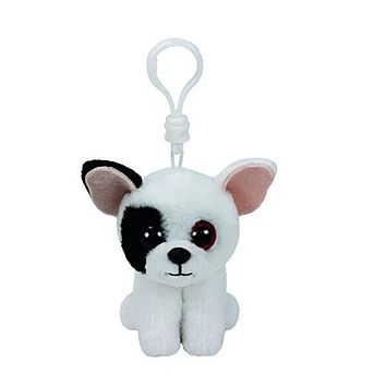 "Ty Beanie Boos 4"" 10cm Keychain Clip barks dog pippie dog waddles penguin pongo penguin ming panda icy toys for children"