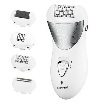 4in1 women epilator electric female face hair removal lady shaver depilation bikini trimmer depilatory facial epilation body